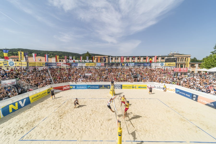 Beachvolleyball Baden